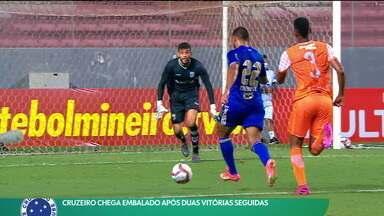 Cruzeiro chega embalado após duas vitórias seguidas - Cruzeiro chega embalado após duas vitórias seguidas