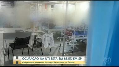 Começou a funcionar em São Paulo novo hospital de Campanha - 638 pessoas morreram à espera de um leito de UTI no Estado.