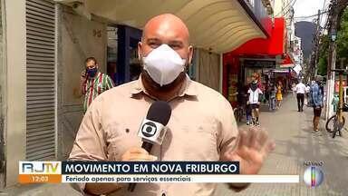 Veja o que vai funcionar em Nova Friburgo nos feriados de Tiradentes e São Jorge - Comércio funciona normalmente com rodízio de CNPJ.