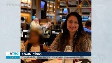 Foragido de Figueirópolis é preso nos EUA por suspeita de matar a ex-namorada - Foragido de Figueirópolis é preso nos EUA por suspeita de matar a ex-namorada