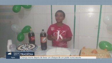 Criança morre após levar choque em poste dentro de escola em São Vicente - Caso aconteceu no domingo (25), na Área Continental.