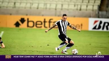 Ceará tem primeiro jogo oficial fora do País - Saiba mais em ge.globo/ce