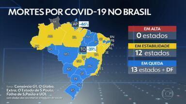 Brasil passa de 395 mil mortes por Covid - O país registrou 3.120 mortes pela doença em 24 horas, totalizando 395.324 óbitos desde o início da pandemia.