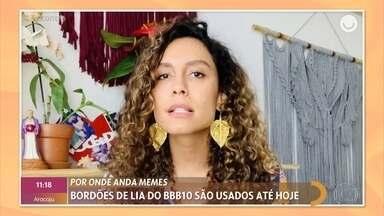Lia, do 'BBB10', criou bordões que são usados até hoje - Ex-BBB ficou conhecida por frases como 'O Brasil está vendo' e 'Olha no meu olho'