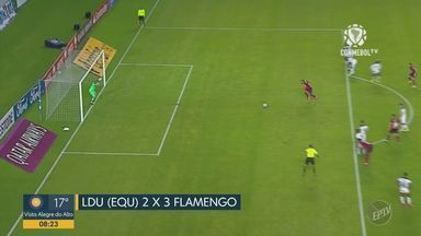 Atlético-MG vence em casa; Flamengo desliza, mas consegue virar o jogo e vencer no Equador - Galo segue invicto. Pênalti marcado por Gabi Gol deu a vitória ao Rubro Negro.