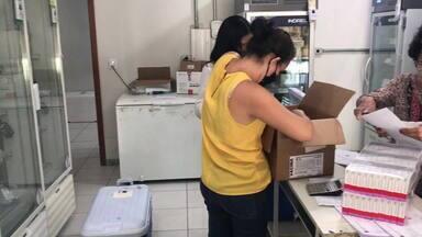 SRS de Coronel Fabriciano recebe novas doses de vacinas contra a Covid-19 - 21.500 doses serão distribuídas para 35 municípios da região.
