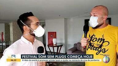 Festival Som Sem Plugs começa hoje em formato virtual - Festival Som Sem Plugs começa hoje em formato virtual