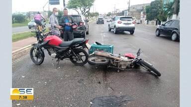 Quadro Mobilidade mostra acidentes de trânsito registrados em Aracaju - Quadro Mobilidade mostra acidentes de trânsito registrados em Aracaju.