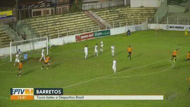 Barretos vence o Desportivo Brasil - Próximo jogo do Touro é na sexta-feira (7).