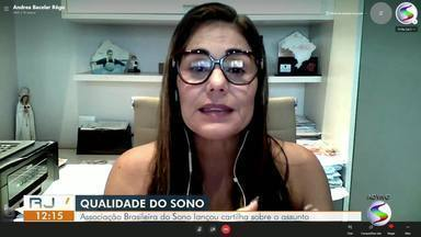 RJ1 fala dos benefícios do sono - Especialistas da Associação Brasileira do Sono criaram uma cartilha que ajuda a definir o que é um sono normal e, assim, a promover qualidade de vida.