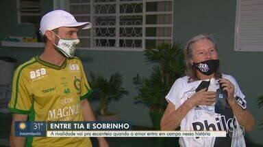 Família torcedora do Guarani presenteia tia pontepretana com camisa autografada - Presente incluiu gravação dos jogadores da Macaca que homenagearam a idosa.