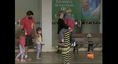 Chapecó tem Corujão da Vacinação - Prefeitura tem novo horário de vacinação em Chapecó