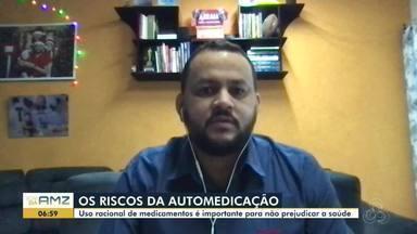 Riscos da automedicação: presidente do Conselho Regional de Farmácia de RO fala a respeito - Uso racional de medicamentos é importante para não prejudicar a saúde.