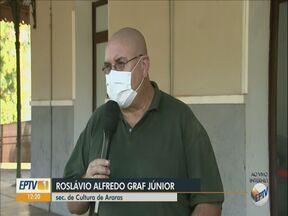 Artistas de Araras recebem kits de alimentos durante a pandemia - O repórter Rafael Castro explica mais sobre essa iniciativa.