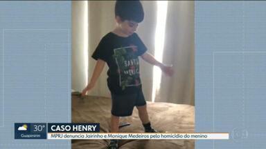 MPRJ denuncia Jairinho e Monique Medeiros pelo homicídio triplamente qualificado de Henry - Promotor Marcos Kac, autor da denúncia, também pediu a conversão da prisão temporária do casal em prisão preventiva.