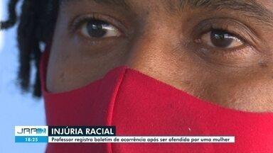 Professor registra boletim de ocorrência após ser ofendido por uma mulher - Caso aconteceu em um bar localizado em um shopping de Boa Vista.