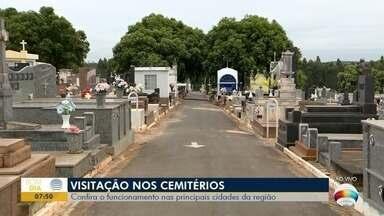 Cemitérios funcionam em horário especial para o Dia das Mães - Confira o funcionamento nas principais cidades da região.