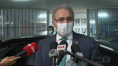 Ministro da Saúde, Marcelo Queiroga, se reúne com embaixador da China - Segundo Queiroga, China se comprometeu a cumprir todos os contratos de venda de vacinas
