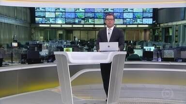 Jornal Hoje - íntegra 08/05/2021 - Os destaques do dia no Brasil e no mundo, com apresentação de Maria Júlia Coutinho.