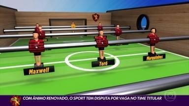 Sport tem disputa por vaga no time titular antes de semifinal do Pernambucano - Sport tem disputa por vaga no time titular antes de semifinal do Pernambucano
