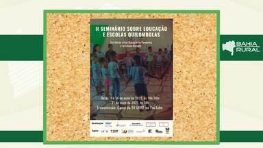 Agenda Rural: veja eventos que acontecem na capital e no interior do estado - Confira os destaques do Bahia Rural.