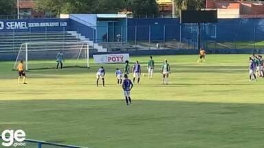 Espalma! Manoel cobra pênalti para o Altos, e goleiro Yan salva o Parnahyba - Espalma! Manoel cobra pênalti para o Altos, e goleiro Yan salva o Parnahyba