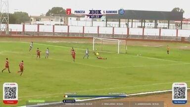 Veja os gols de Princesa 3 x 2 São Raimundo, pelas semis do Amazonense - Partida de volta ocorreu neste domingo, em Mancapuru