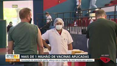Imunização da população ganha reforço com a chegada de mais vacinas essa semana - Assista a seguir.