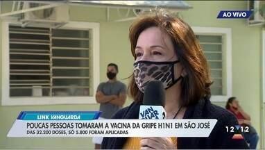 Vacina da gripe tem baixa procura em São José - Cidade aplicou só 5,8 mil das 32 mil disponíveis