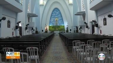 Começa a festa de Nossa Senhora de Fátima - As homenagens no santuário dedicado à Santa, no Recife, vão seguir regras para evitar o coronavírus. As celebrações vão acontecer com público limitado.