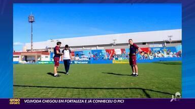 Novo técnico do Fortaleza, Vojvoda já chegou, conheceu Pici e comanda treino - Novo técnico do Fortaleza, Vojvoda já chegou, conheceu Pici e comanda treino