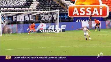 Ceará perde título da Copa do Nordeste para Bahia em cobrança de pênaltis - Ceará perde título da Copa do Nordeste para Bahia em cobrança de pênaltis