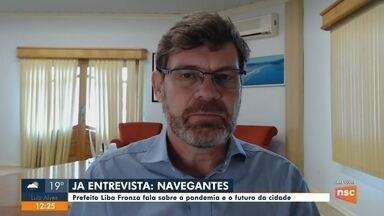JA Entrevista: Prefeito Liba Fronza fala sobre a pandemia e o futuro de Navegantes - JA Entrevista: Prefeito Liba Fronza fala sobre a pandemia e o futuro de Navegantes