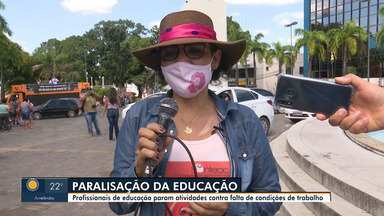 Aulas da rede pública estadual continuam suspensas no Acre - Aulas da rede pública estadual continuam suspensas no Acre
