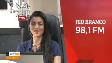 Veja o que é notícias na CBN Amazâonia Rio Branco nesta segunda-feira (10) - Veja o que é notícias na CBN Amazâonia Rio Branco nesta segunda-feira (10)