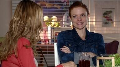 Nanda acha que Eva está prejudicando a recuperação de Ana - Celina acha que a situação de Ana é muito delicada