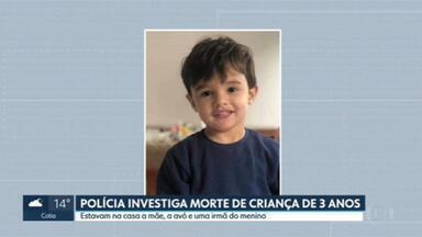 Polícia Investiga morte de menino 3 anos - Ele estava na cozinha de um apartamento na Bela Vista. A mãe estava ao lado, em choque, segundo testemunhas