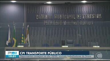 CPI do Transporte Público: depoimentos começam em 18/05 - CPI do Transporte Público: depoimentos começam em 18/05