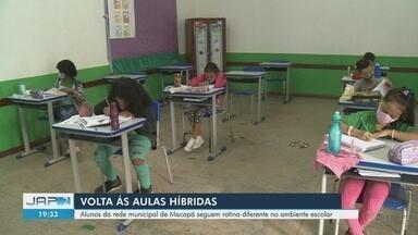 Iniciadas há uma semana, aulas presenciais em Macapá seguem dividindo pais e professores - Retorno é apenas para turmas do 5º ano do Ensino Fundamental e categoria de educadores ainda defende volta apenas com vacinação.