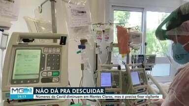 Abril tem queda de 40% no número de mortes por Covid em relação a março - Segundo a Secretaria de Saúde de Montes Claros, 175 óbitos foram registrado em abril.
