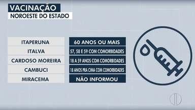 RJ2 traz o cronograma de vacinação contra a Covid-19 nas cidades do interior do Rio - Confira o calendário de imunização divulgado pelas prefeituras.