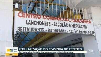 TCE determina licitação dos boxes do mercado de hortifrutis em Florianópolis - TCE determina licitação dos boxes do mercado de hortifrutis em Florianópolis