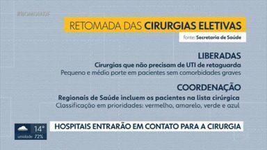 Com a abertura dos hospitais de campanha, cirurgias eletivas devem ser retomadas na rede pública do DF - GDF suspendeu procedimentos em fevereiro.