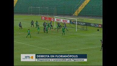 Chapecoense perde pro Figueirense - Verdão do Oeste é superado pelo Figueira no jogo de ida das quartas do Catarinense