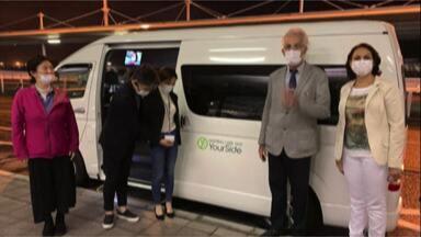 Médico de Mogi consegue visto humanitário do Japão para buscar pacientes - O trabalho do médico é voluntário e já ajudou pessoas de várias partes do Brasil.