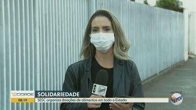 Sesc organiza campanha de doação de alimentos em todo o Estado de São Paulo - De acordo com a organização, expectativa é de atender mais de 120 mil famílias com alimentos arrecadados.