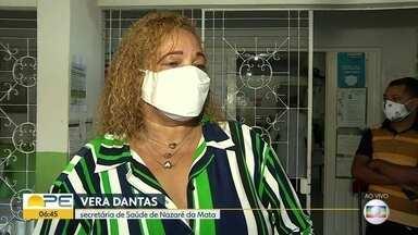 Nazaré da Mata recebe 160 doses da Coronavac - Com planejamento, município consegue seguir com vacinação em dia