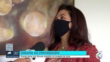 UFJF abre inscrições para a Semana da Enfermagem - O tema central da discussão é a enfermagem no contexto de crise, durante a pandemia. Veja a entrevista com a vice-reitora da UFJF, Girlene Alves da Silva.