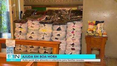 Ação Social de São Sebastião entrega cestas básicas e cobertores em Juiz de Fora - O material será doado a famílias carentes da cidade, e o Integração Notícia acompanhou o trabalho de separação e organização das peças que serão entregues.