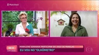Ana Maria Braga conversa com Marilene sobre o preparo do 'Jantar do Rei do Baião' - Confira